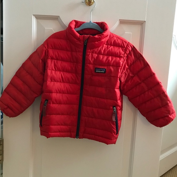 Patagonia Jackets Coats Baby Down Sweater 2t Poshmark
